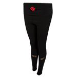 Women's SD Spear Mesh Moto Leggings-Black