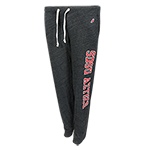 Women's SDSU Aztecs Triblend Pants-Charcoal