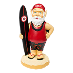 SDSU Surfer Gnome-Red
