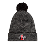 Nike SD Spear Pom Beanie-Gray