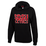 Women's SDSU Aztecs Sweatshirt-Black