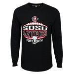 2017 Armed Forces Bowl Long Sleeve Tee-Black
