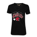 Women's 2017 Armed Forces Bowl Tee-Black