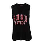 Women's SDSU Aztecs Tank-Black
