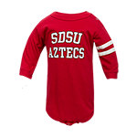 SDSU Aztecs Onesie-Red
