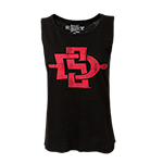 Women's SD Spear Tank-Black