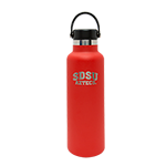 Hydro Flask 21 oz SDSU Bottle-Red