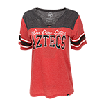 Women's San Diego State Tee-Red