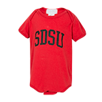 SDSU Infant Onesie-Red