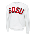 SDSU Sweatshirt-White