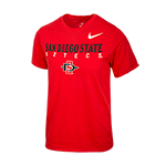 2018 Youth Nike Sideline San Diego State Aztecs-Red