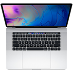 "Apple MacBook Pro 15"" w/ Touch Bar 2.2GHz Quad-Code i7 256GB-Silver"