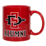SD Spear Alumni Mug-Red