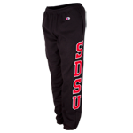 SDSU Twill Sweatpants- Black
