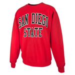 Basic San Diego State Crew-Red
