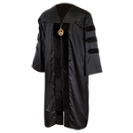 Doctoral Regalia Gown