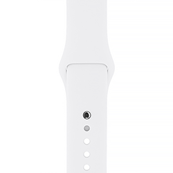 Apple Watch 38mm White Sport Band