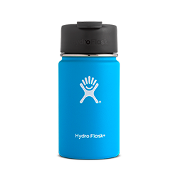 Hydro Flask 12 oz Wide Mouth Flip Lid-Pacific Blue