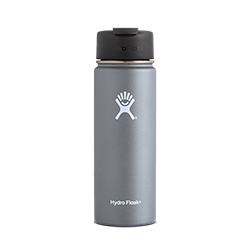 Hydro Flask 20 oz Wide Mouth Flip Lid-Graphite