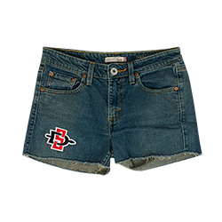 Women's SD Spear Vintage Denim Shorts