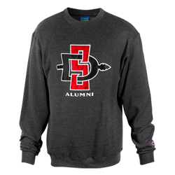 SD Spear Alumni Crew-Gray