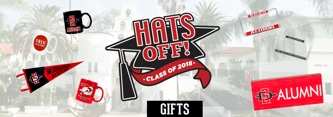 Hats Off! Class of 2018. Gifts.