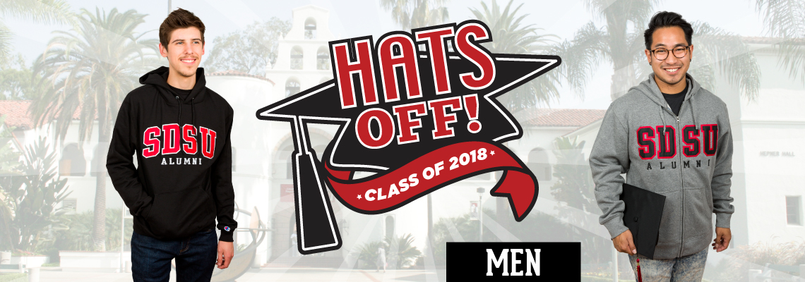 Hats Off! Class of 2018. Men.