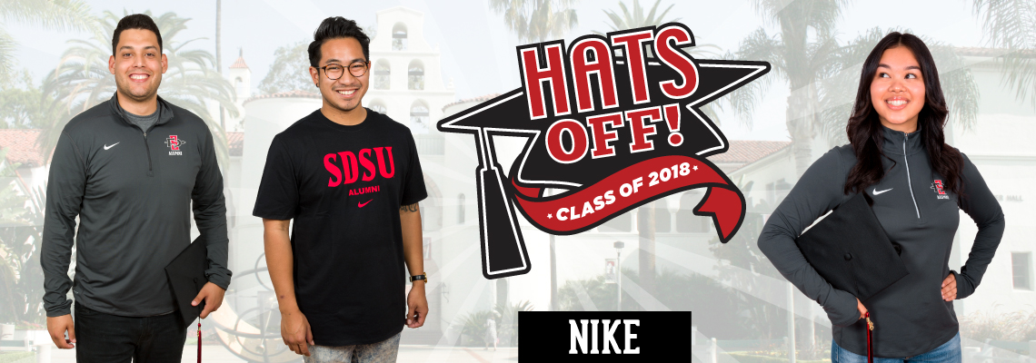 Hats Off! Class of 2018. Nike.