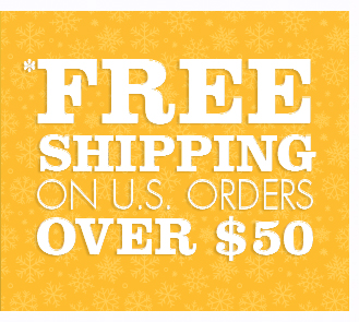 *Free Shipping on U.S. Orders Over $50