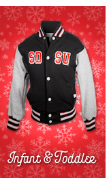 Infant and Toddler. A photo of SDSU toddler jacket.