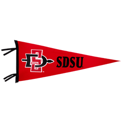 Image result for san diego state pennant