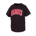 Arched SDSU Toddler Tee-Black