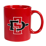 SD Spear Dorchester Mug-Red