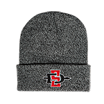 SDSU Twisted Yarn Beanie