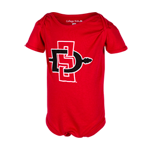 Infant SD Spear Onesie-Red