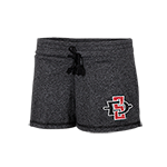 Women's SD Spear Jewel Shorts- Gray