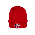 Toddler SD Spear Cuff Beanie-Red