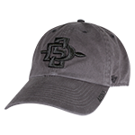 SD Spear Garment Washed Cap-Charcoal