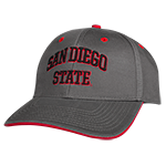 Champion San Diego State Cap- Charcoal