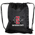 Heavyweight SD Spear Drawstring Bag-Black