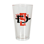SD Spear Pint Glass