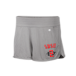 Women's SD Spear Mesh Shorts-Gray