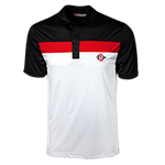 Cutter & Buck SD Spear Polo-White, Black & Red