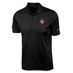 Nike SD Spear Polo Swoosh left sleeve-Black