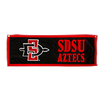 SD Spear Banner-Black/Red