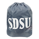 SDSU Drawstring Bag-Gray