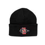 Toddler SD Spear Cuff Beanie-Black