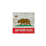 San Diego State California Plank Magnet