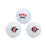 SD Spear SDSU Aztecs Golf Balls