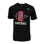 Nike SD Spear Football Tee-Black